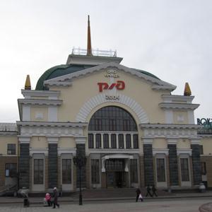 Железнодорожные вокзалы Карпогоров